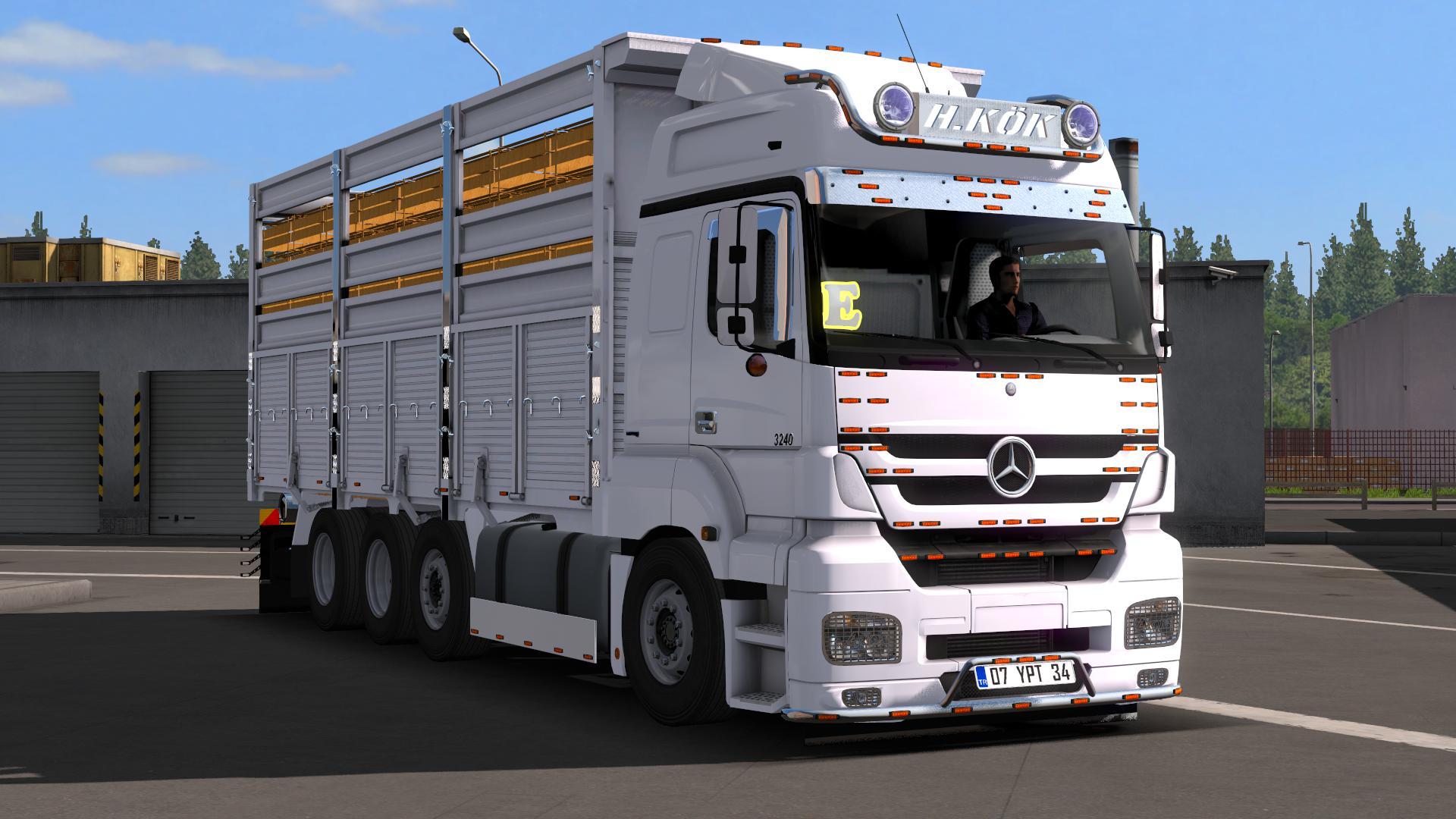 ETS2 - Mercedes-Benz Axor 3240 Truck (1.37 - 1.38)