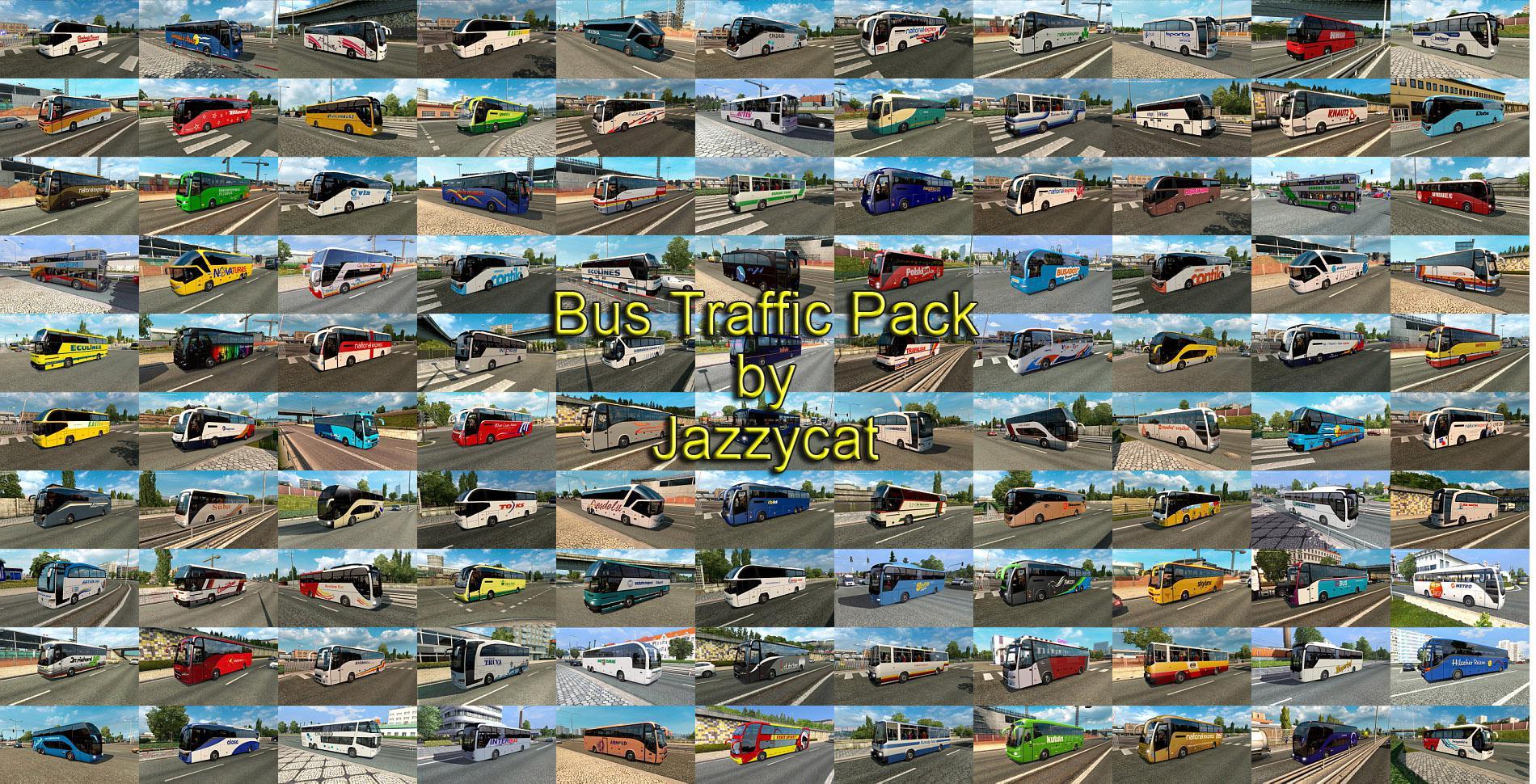 ETS2 - Bus Traffic Pack V8.3 (1.36.x)