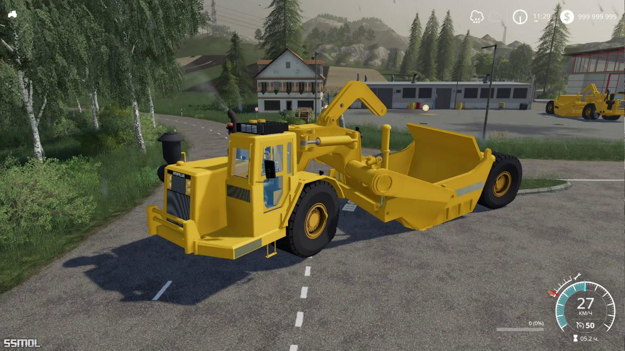 FS19 - Cat 631D Pack V2.0