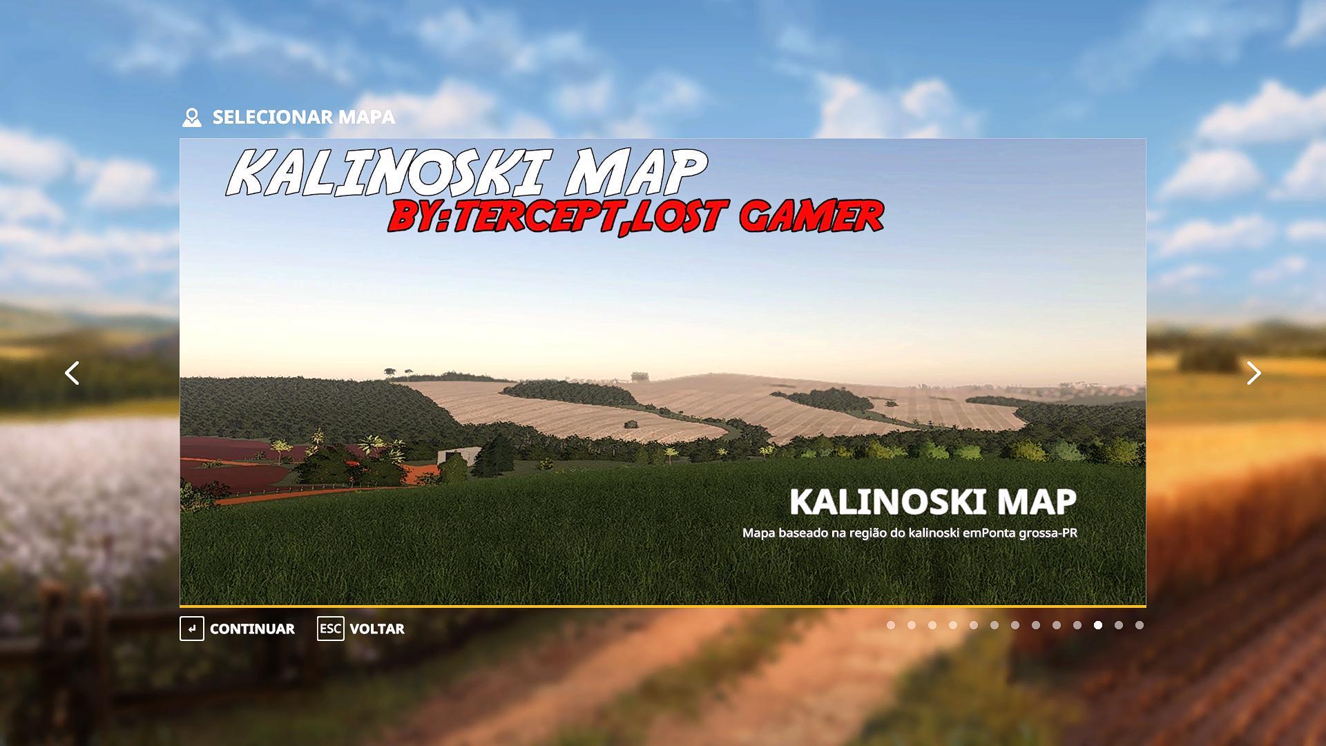 FS19 - Kalinoski Map V1.0