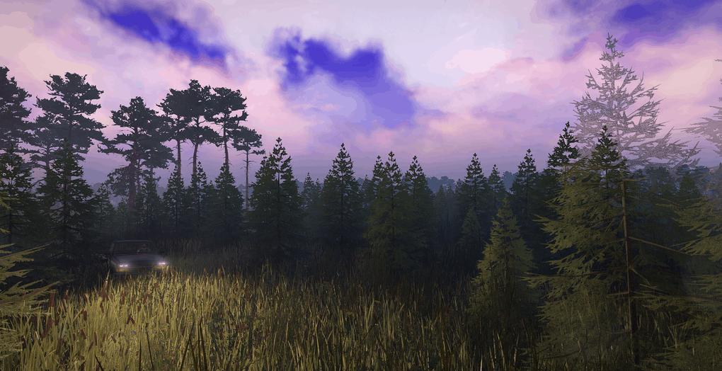 SnowRunner - The Swamp Map V1.0