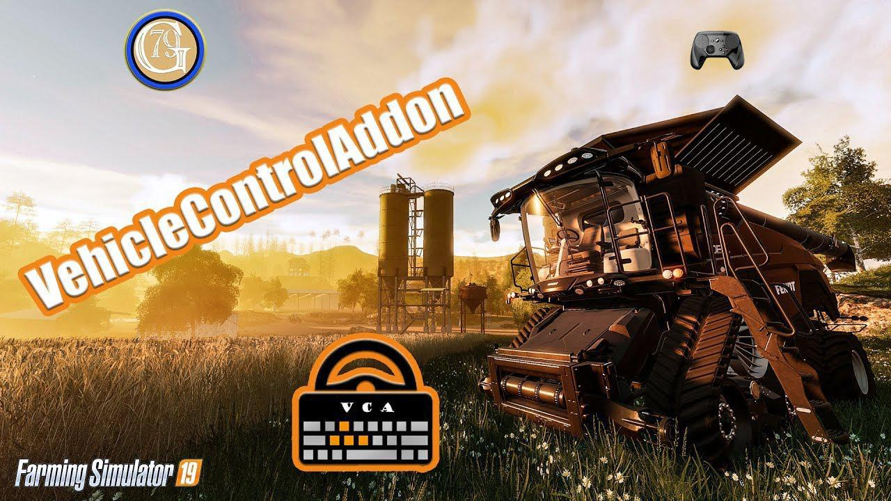 FS19 - Vehicle Control Addon V0.1.0.7