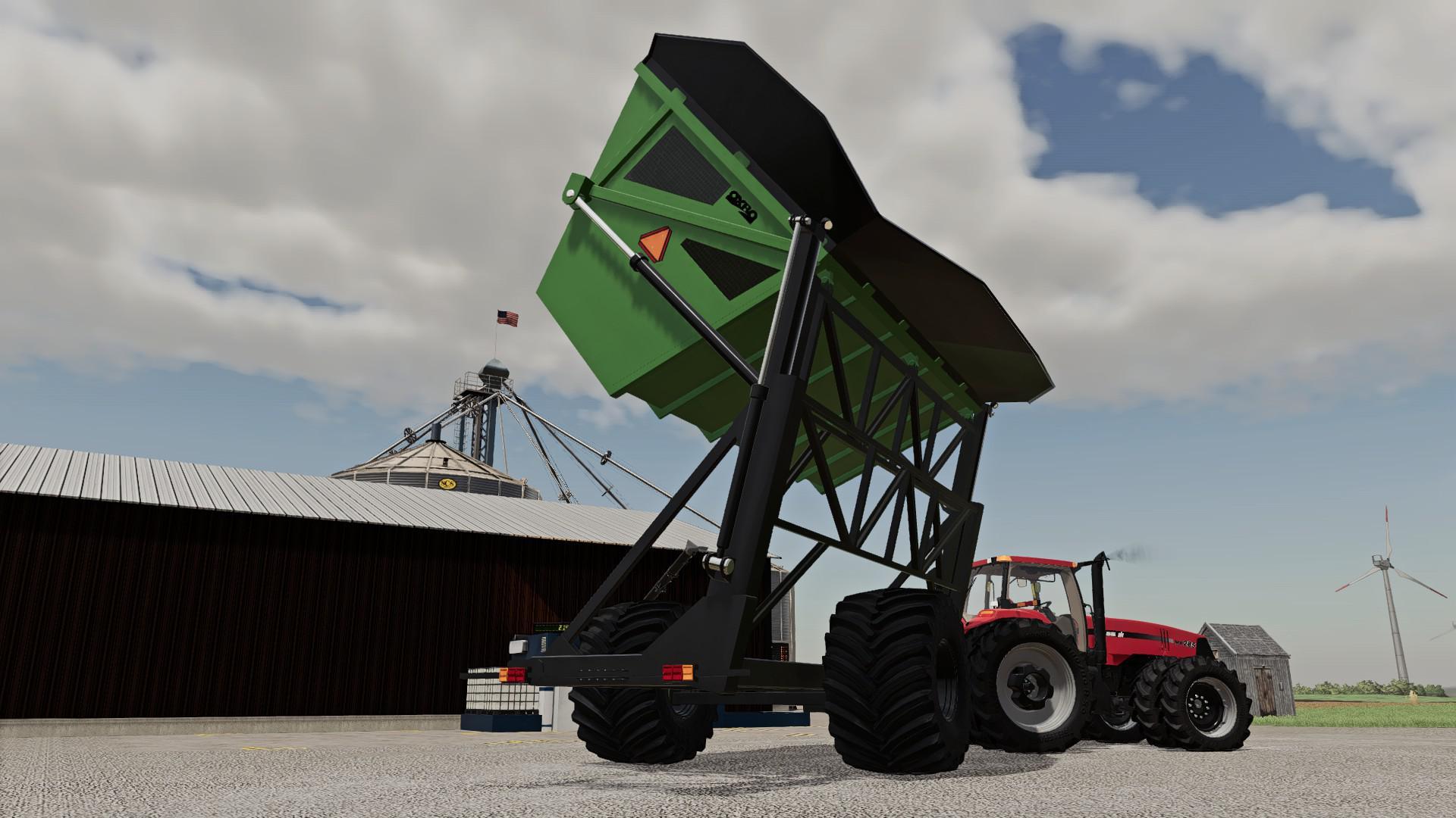 FS19 - Oxbo High Tip Dump Cart V2.0