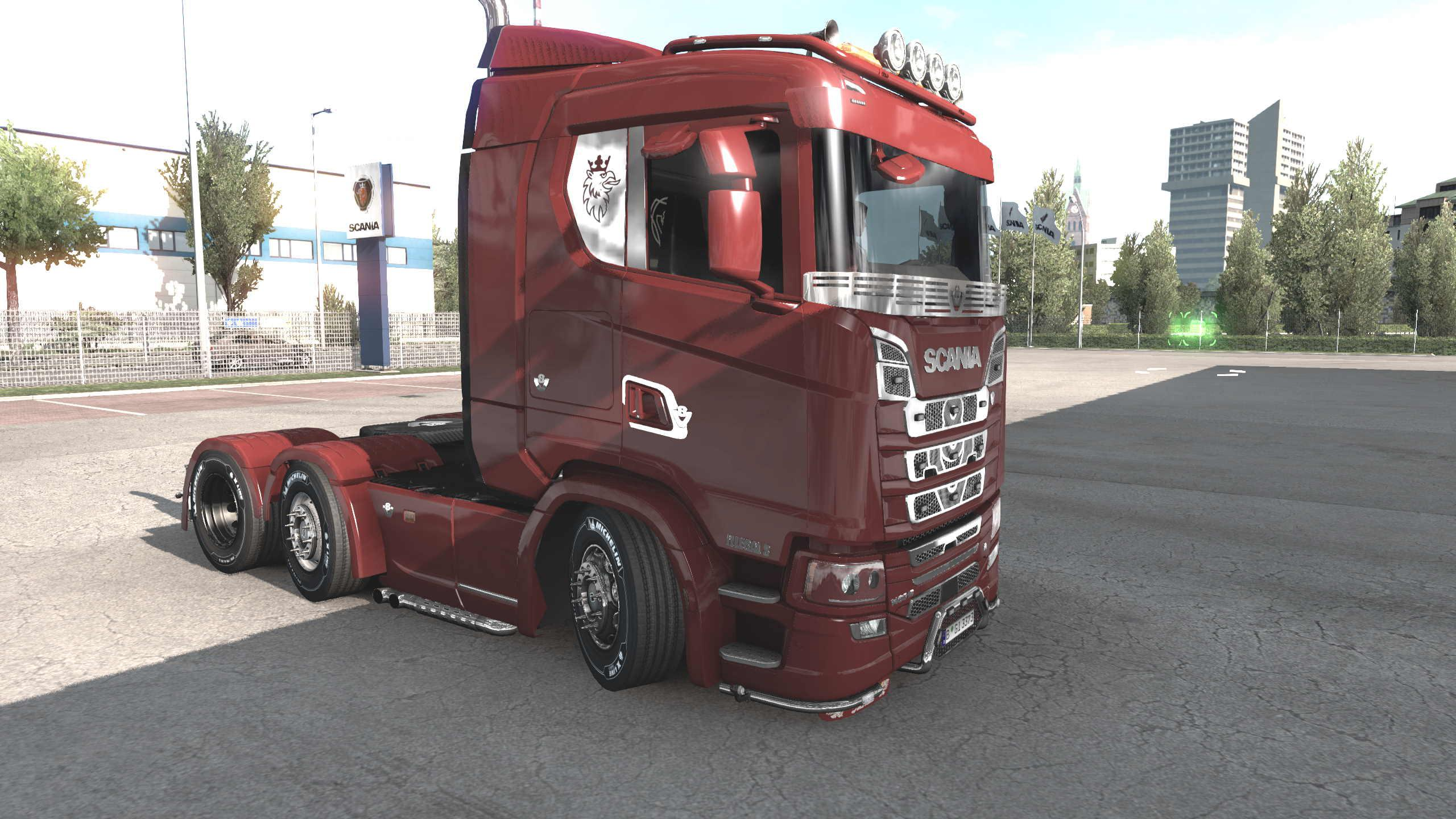 ETS2 - Scania Illegal S Truck V1.0 (1.39.x)