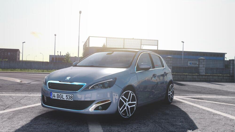 ETS2 - Peugeot 308 V1R60 (1.40.x)