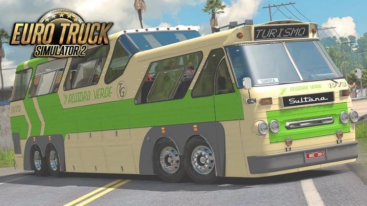 ETS2 - Sultana Panoramico Bus Mod (1.40.x)