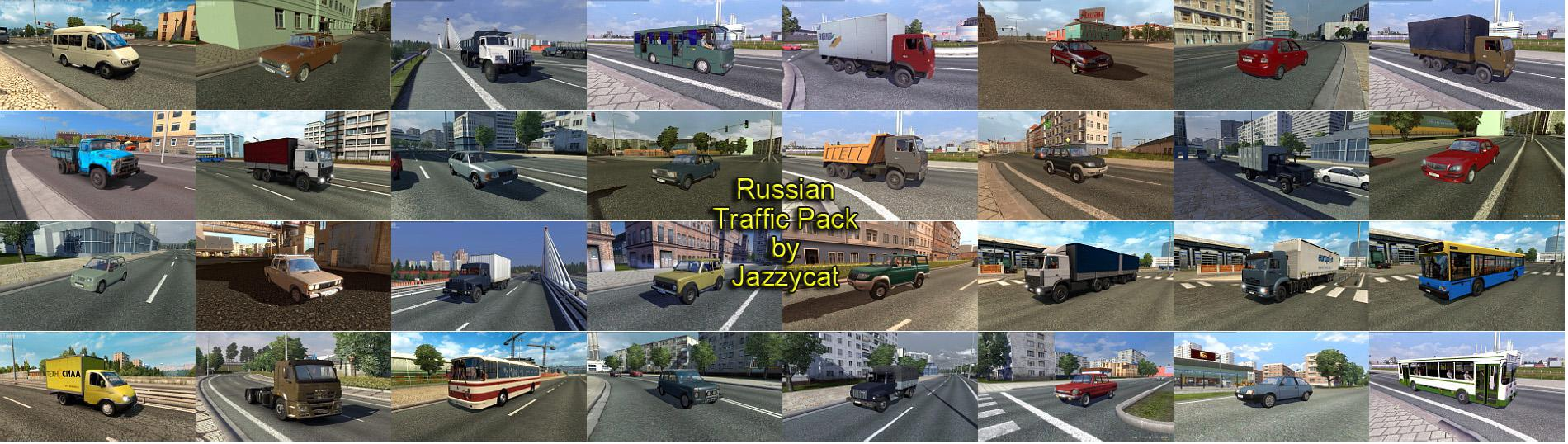 ETS2 - Russian Traffic Pack V2.6 (1.35.X)