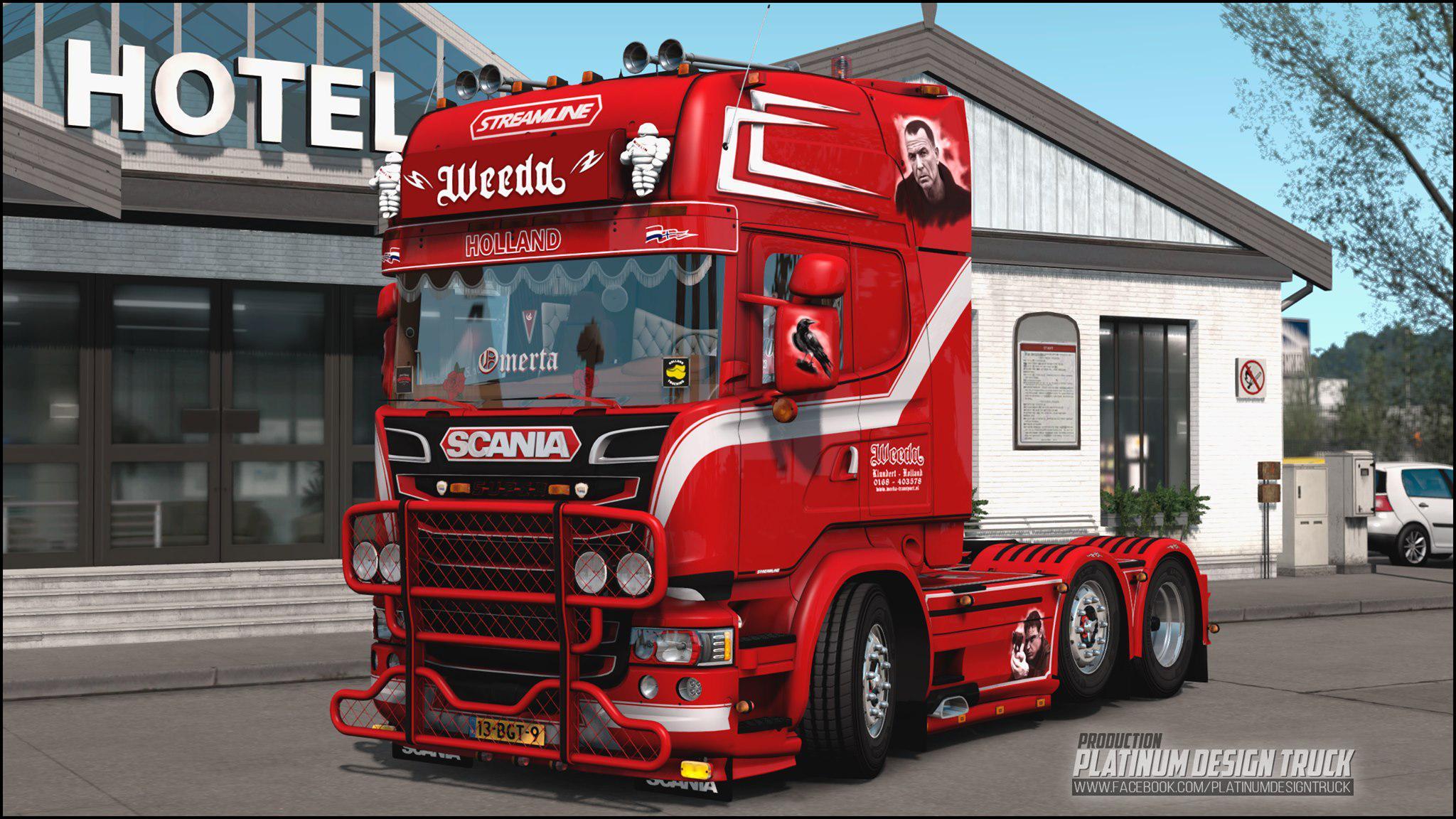 ETS2 - Scania R 500 Penoza Truck (1.39.x)