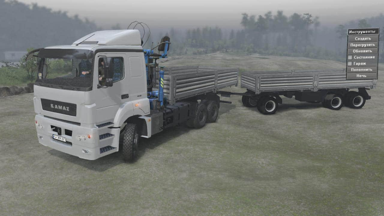 Spintires - Kamaz-5490/65206 Truck V1.0