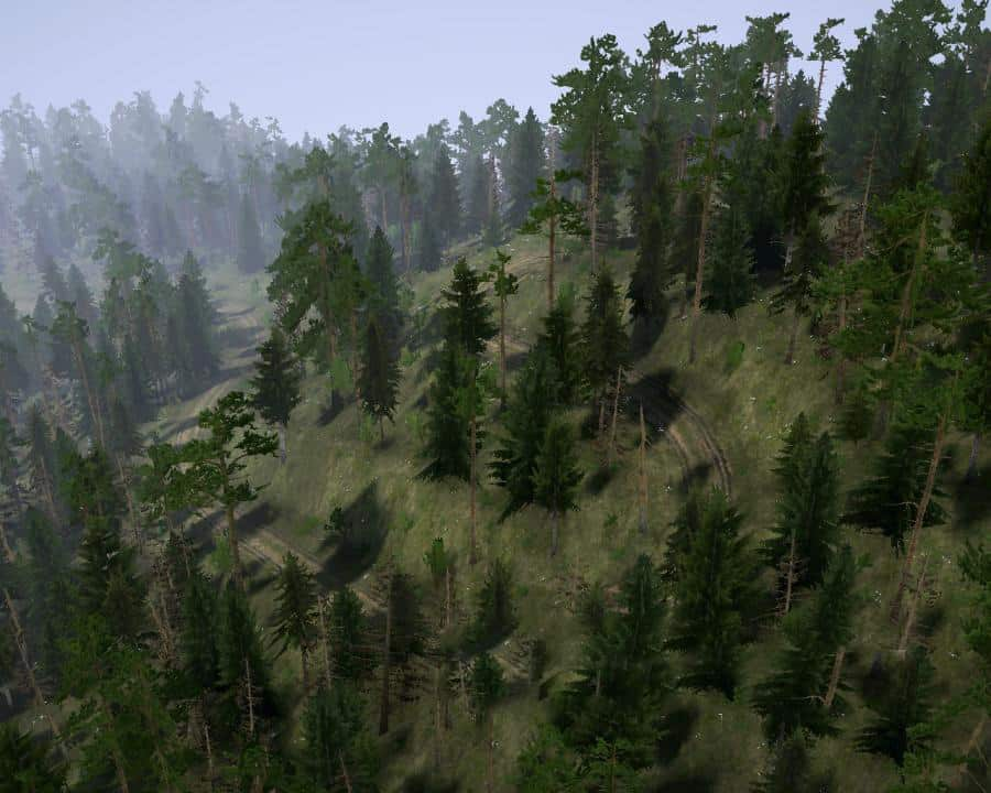 Spintires:Mudrunner - New Road Map V1.0