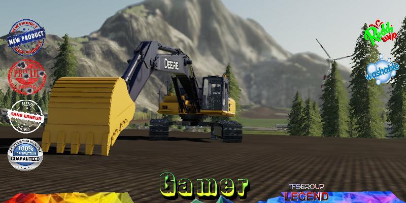 FS19 - Excavator Deere 210 G V1.5