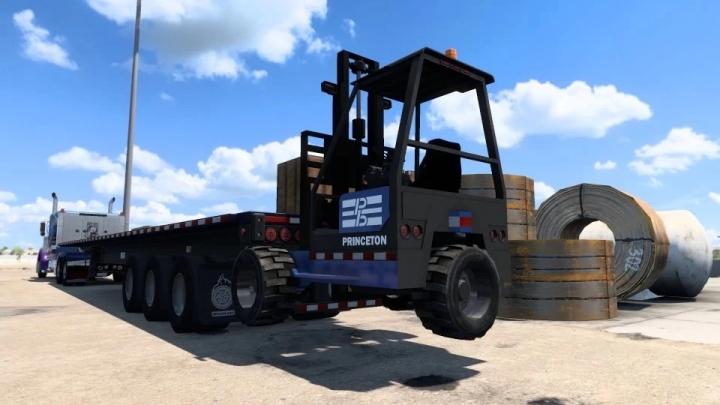 ATS - NitroModz SCS Forklift Piggyback V1.0 (1.41.x)