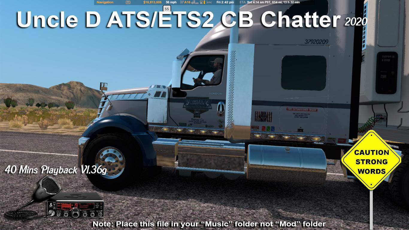 ATS - 2020 Uncle D CB Chatter (1.36.x)