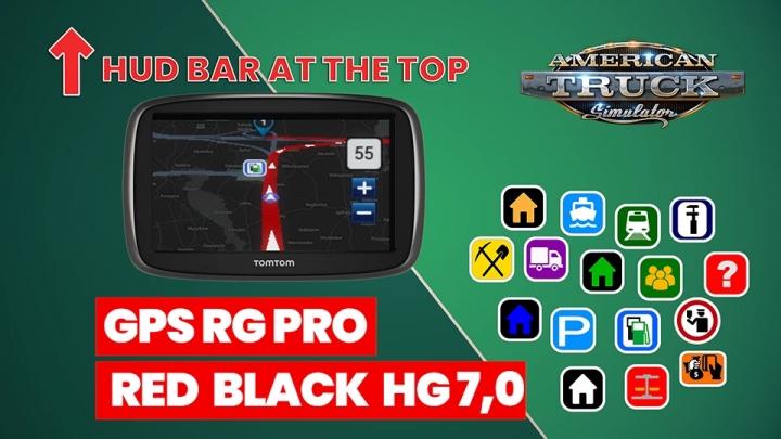 ATS - GPS RG Pro Red Black HG V7.0 (1.40.x)