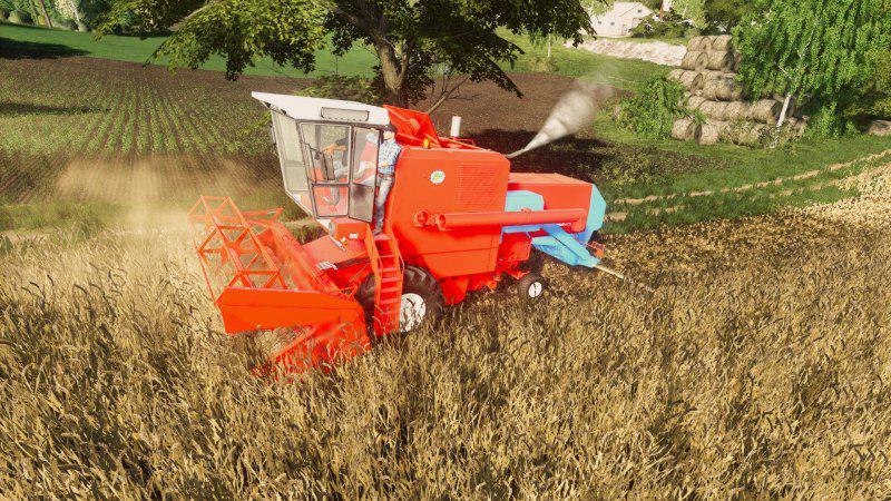 FS19 - Bizon Z056 Harvester V1.0