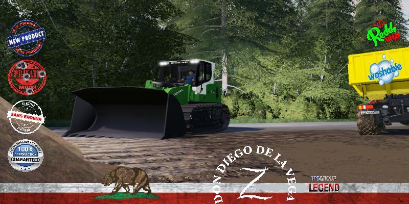 FS19 - Forestry Dozer 834 V1.5
