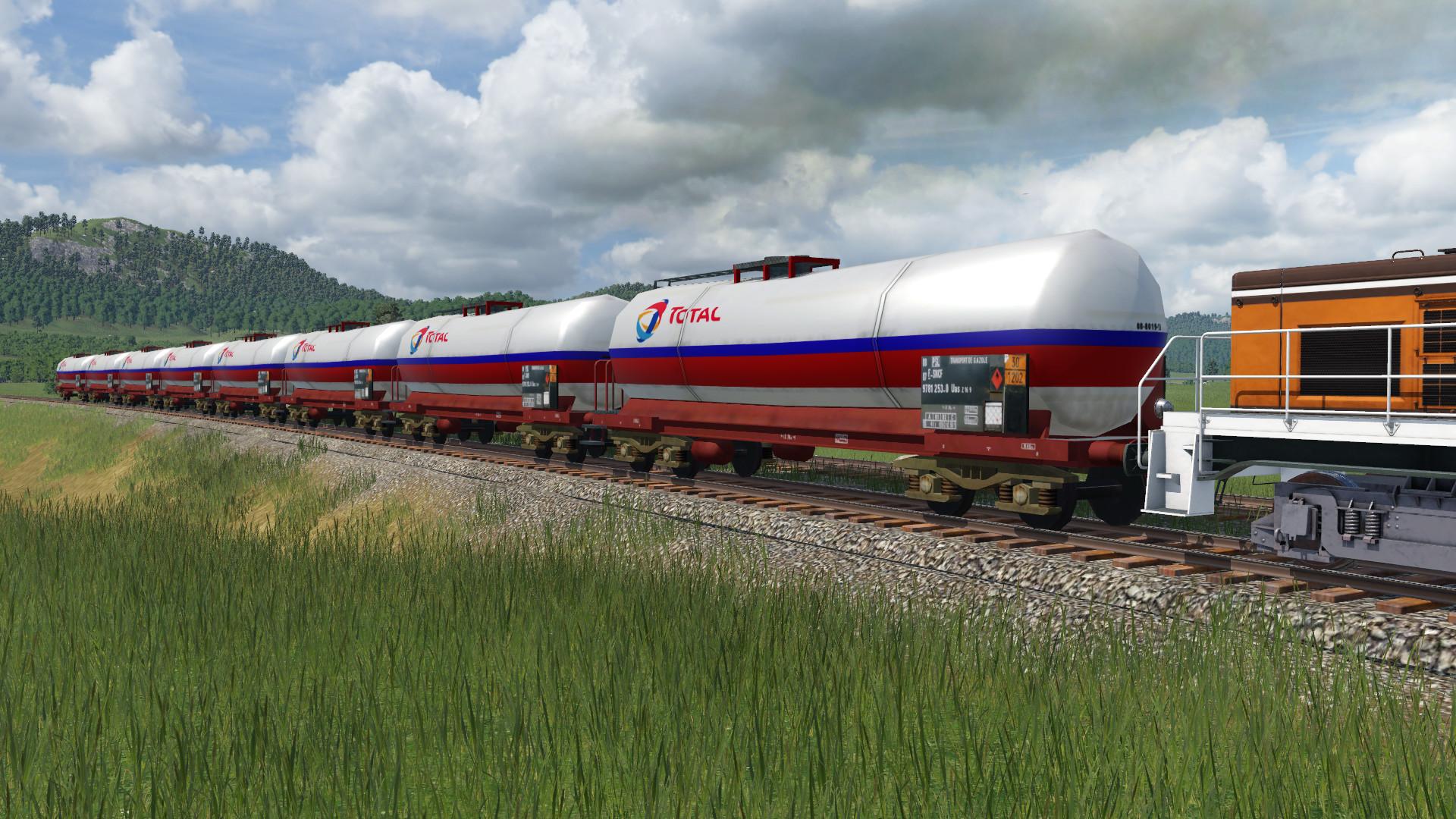 Transport Fever 2 - Wagon Citerne SNCF