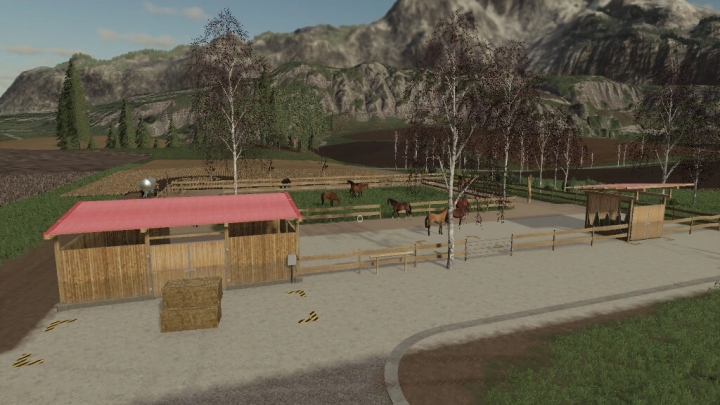 FS19 - Active Horse Stable V1.0