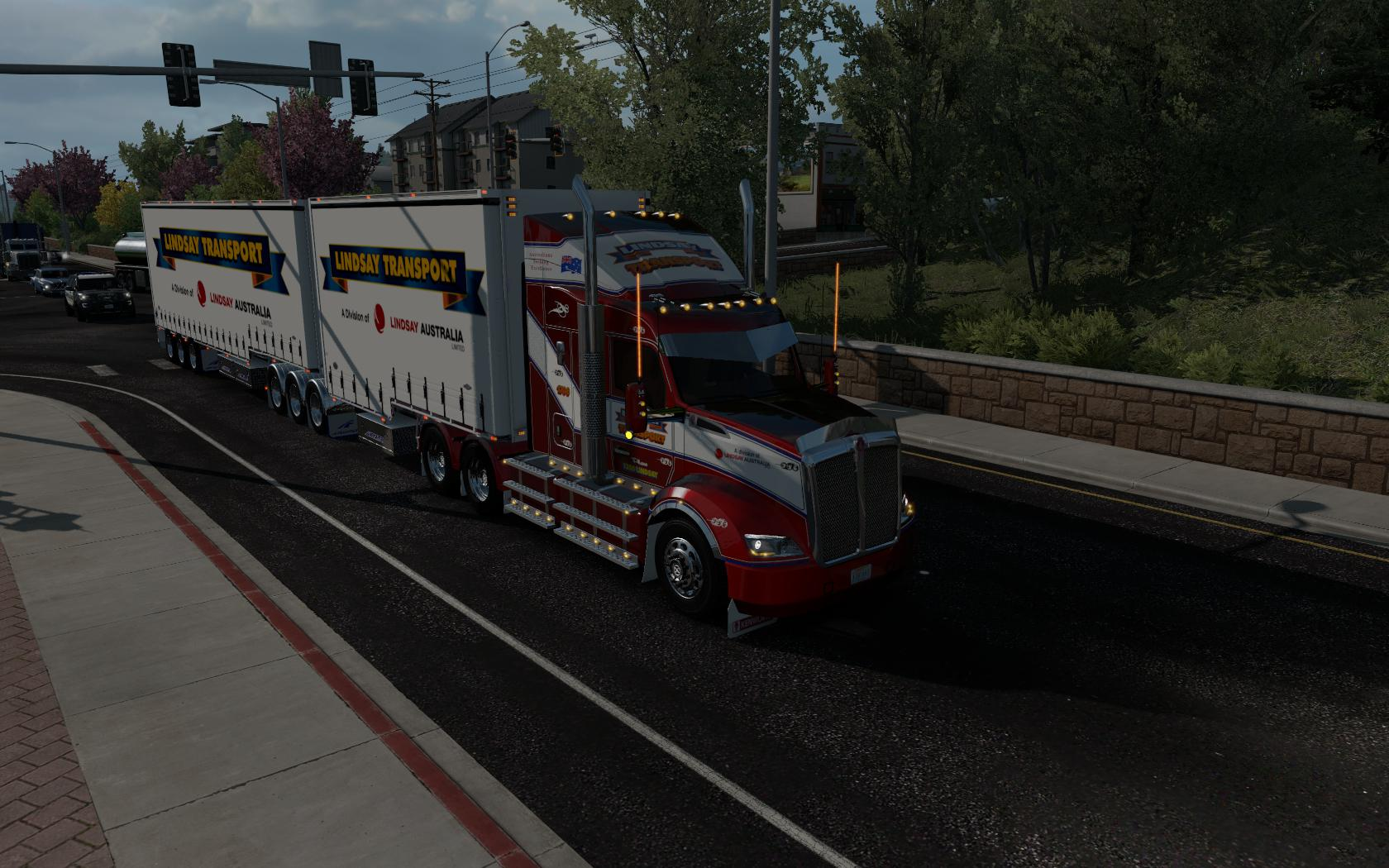 ATS - Kenworth T610 Reworked Truck V1.0.1.1 (1.36.x)