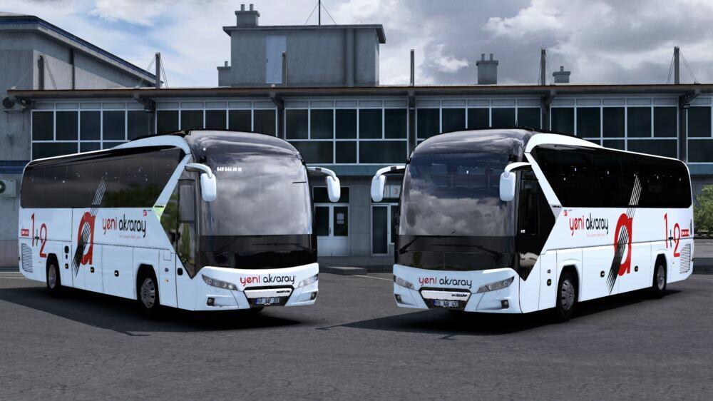 ETS2 - New Neoplan Tourliner – Yeni Aksaray Seyahat Skinpack V1.0 (1.39.x)