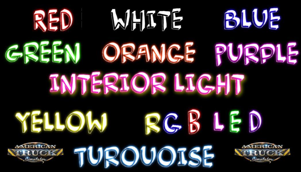 ATS - Interior Lights V3.0 (1.39.x)