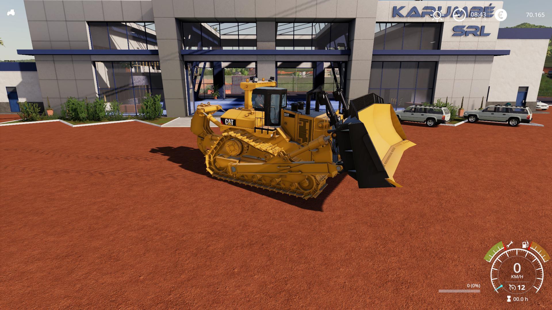 FS19 - Cat D11T V0.1