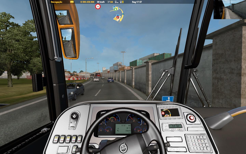 ETS2 - Marcopolo 4x2 Bus V4.8 (1.36.x)