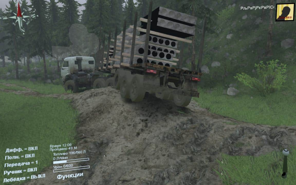 Spintires - New Job Map V1.0.0.2