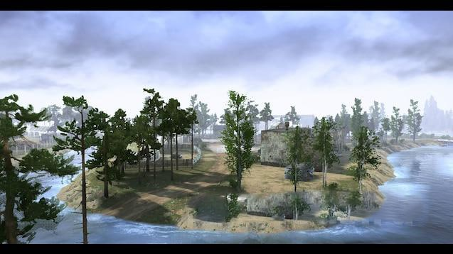 Spintires:Mudrunner - Monocry 5 Map