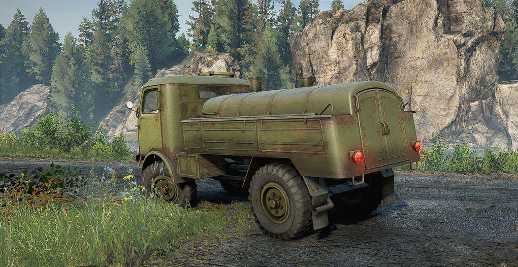 SnowRunner - Scout The Duck 805 Truck V1.0
