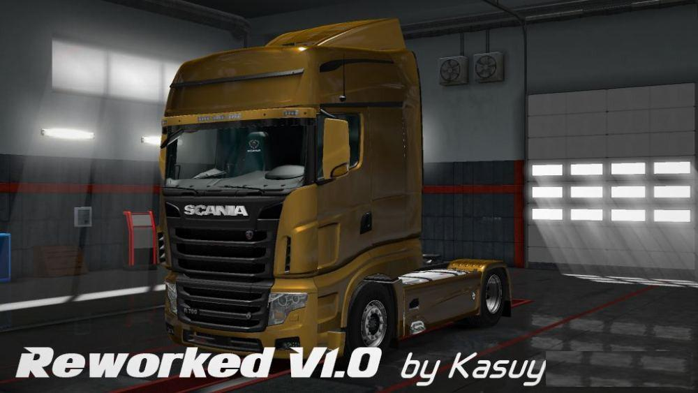 ETS2 - Scania R700 Reworked Truck V1.0 (1.28 - 1.35)