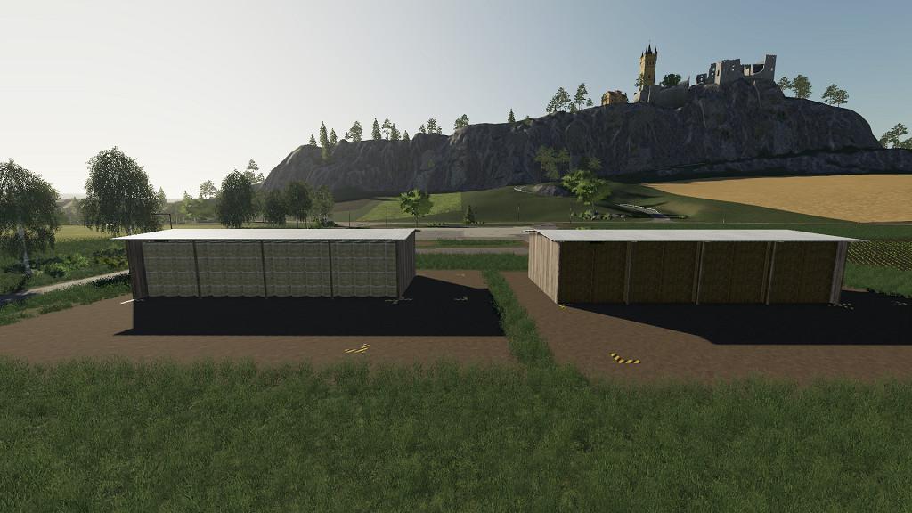 FS19 - Big Bale Storage Pack V1.0