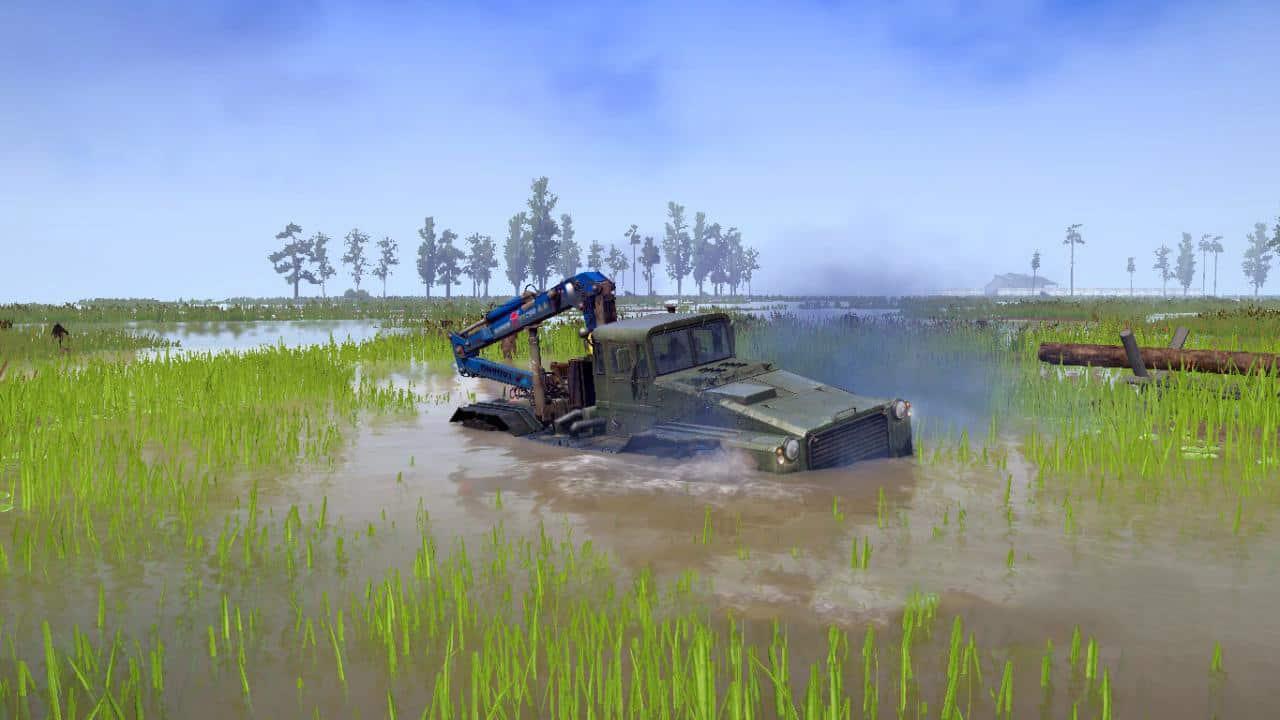 Spintires:Mudrunner - Swamp Mud Map V1