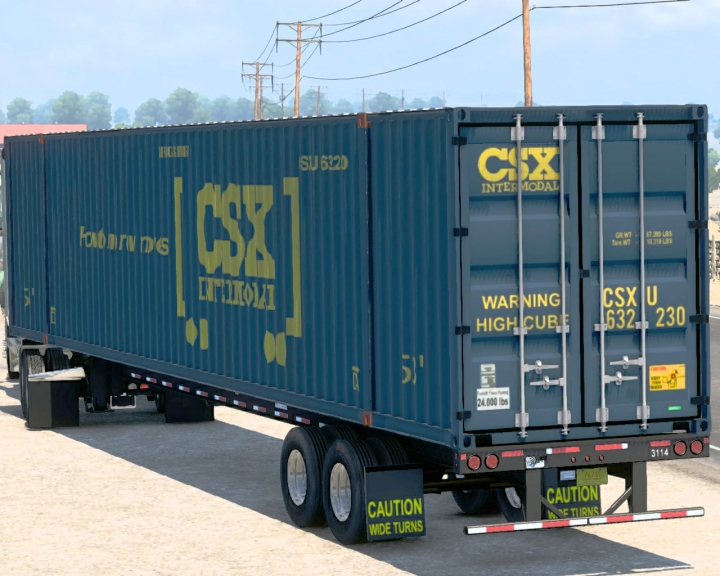 ATS - 53-Foot Container Ownable V1.2 (1.40.x)