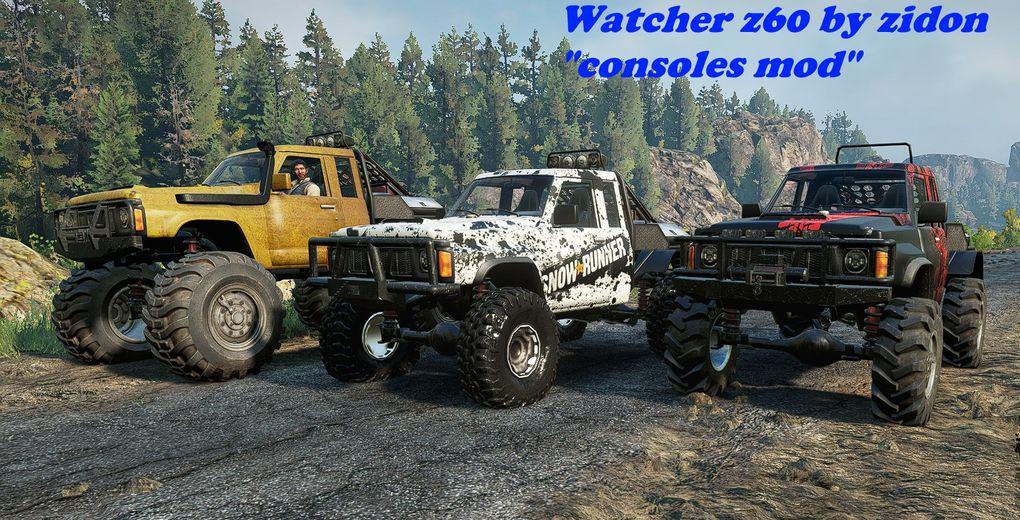 SnowRunner - Watcher Z60 V1.0