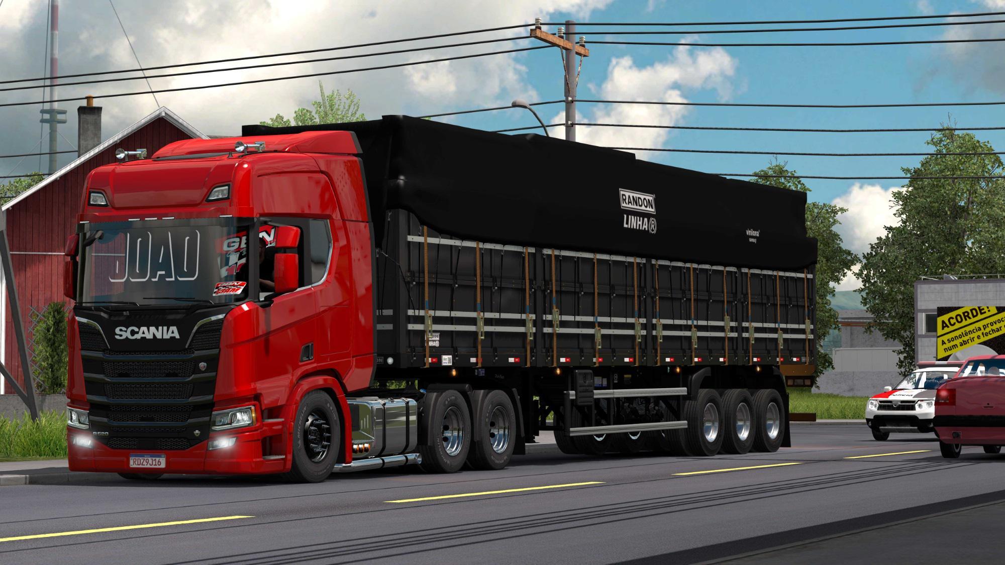 ETS2 - Scania Redzin Truck (1.38.x)
