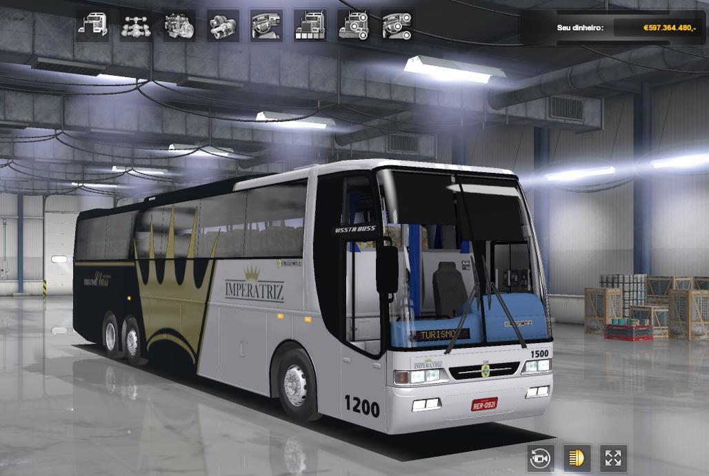 ETS2 - Busscar Vissta Buss - Mercedes-Benz O-400RSD (1.36.x)