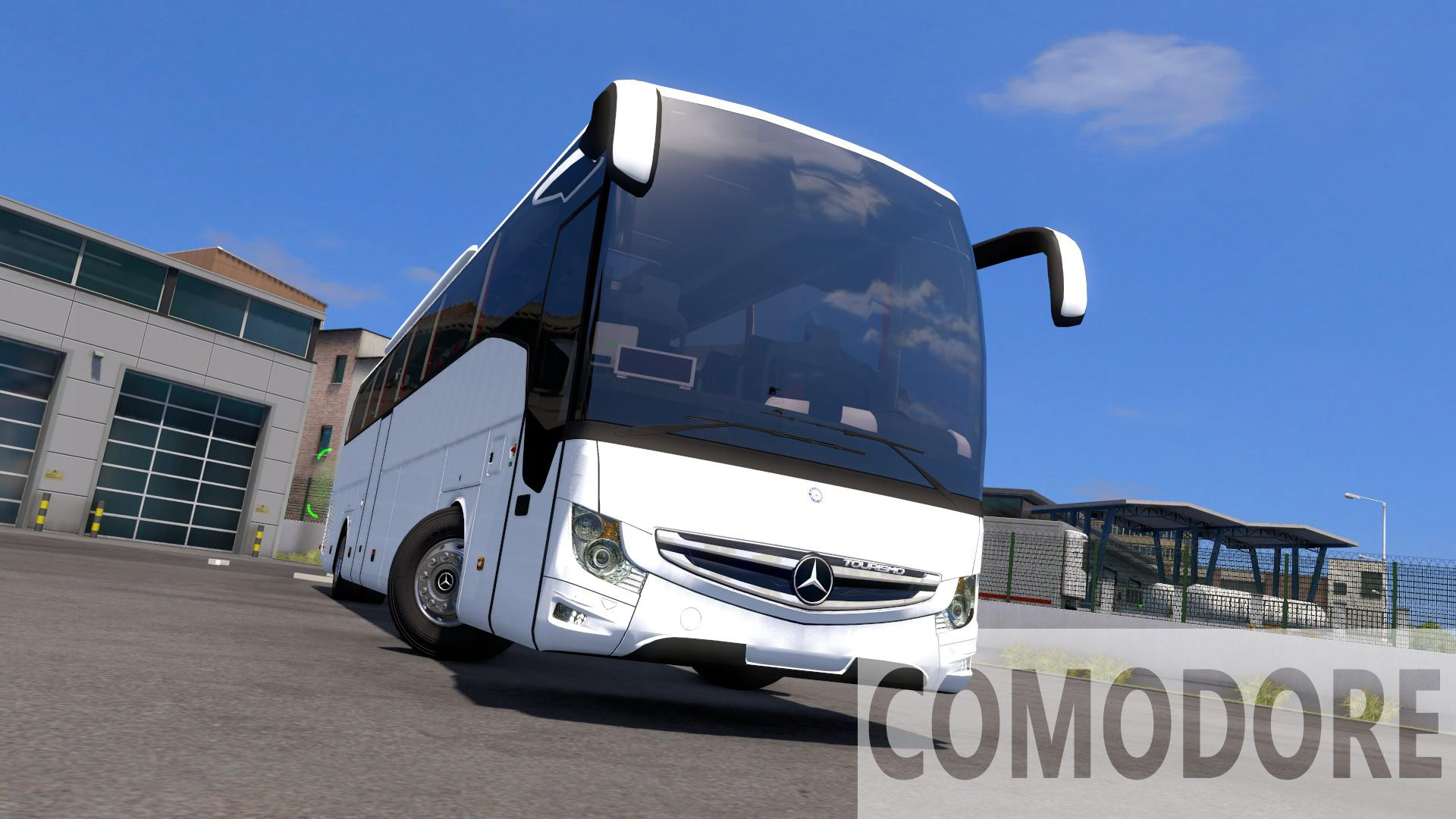 ETS2 - Mercedes-Benz New Tourismo Edition 1 15-16-17 RHD Bus V3.5 (1.38.x)