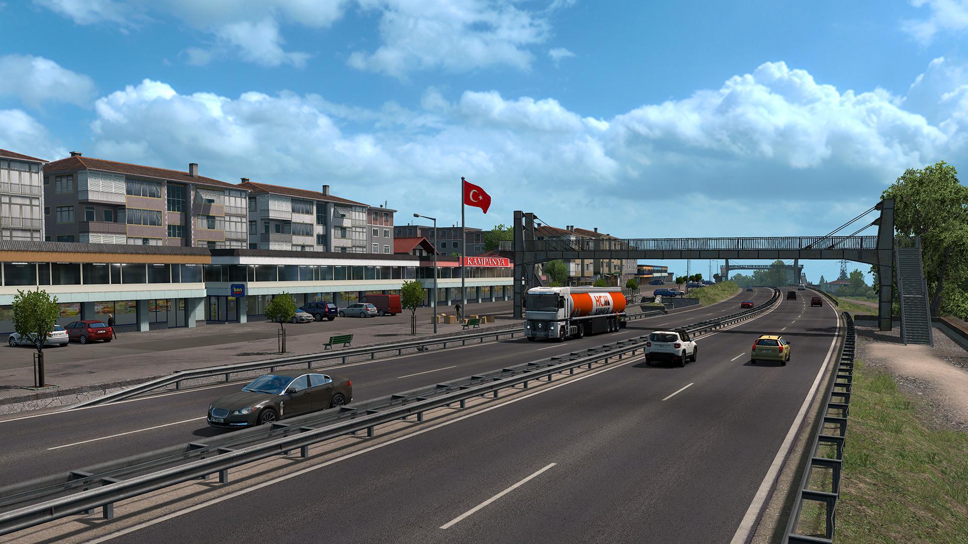 ETS2 - Road The Black Sea Map DLC Mod (1.36.x)