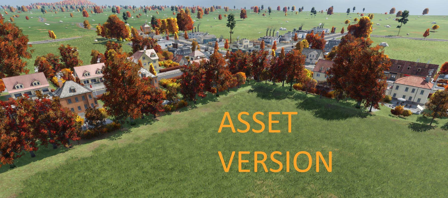 Transport Fever 2 - Autumn Trees Asset Version