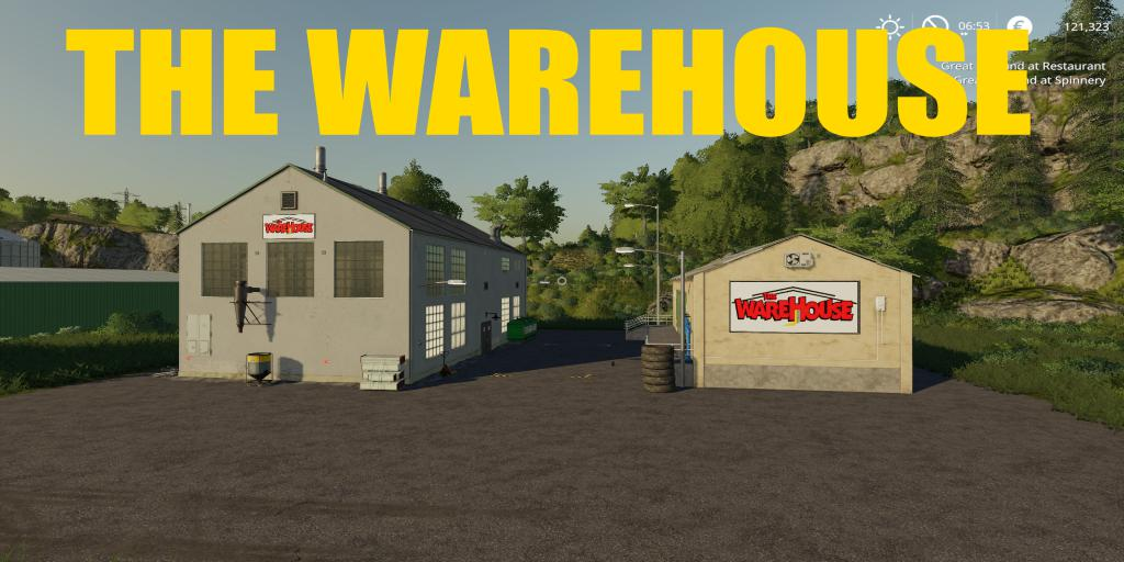 FS19 - TheWareHouse V1.0.5