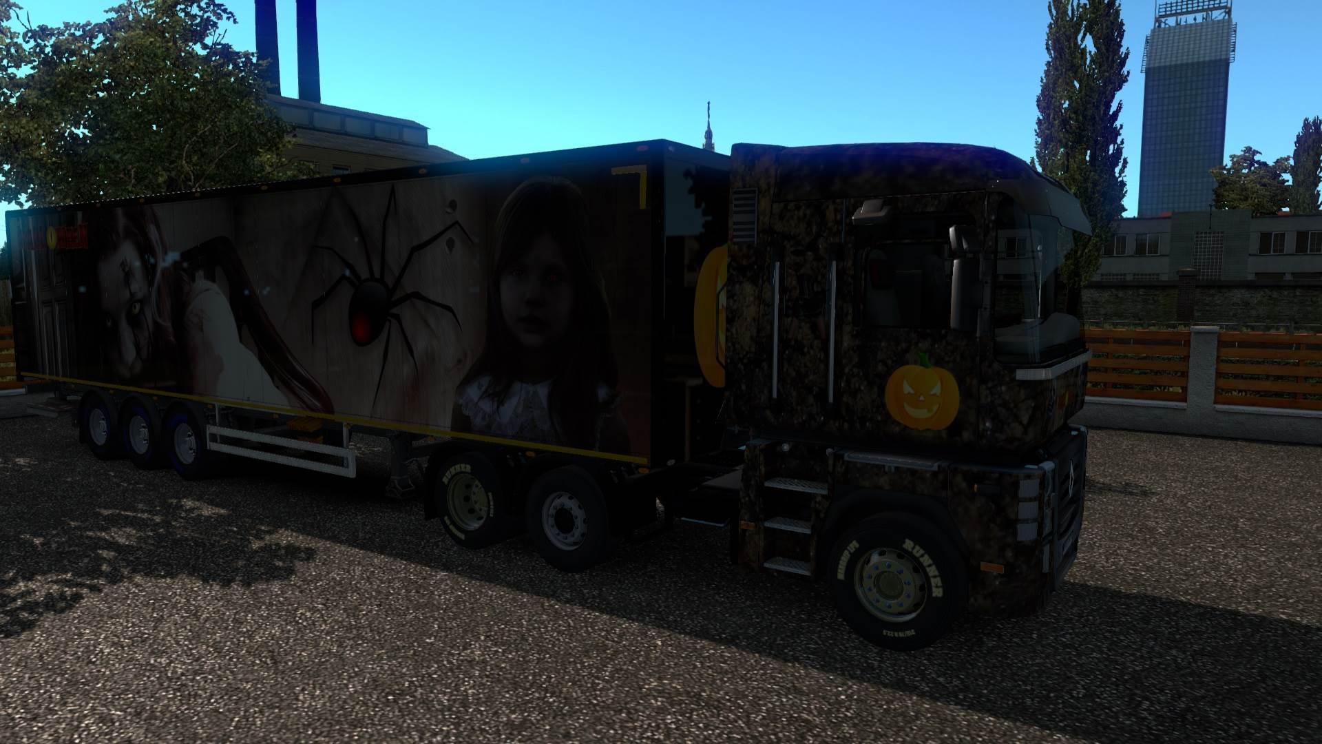 ETS2 - Halloween Paintjob (1.35.X)