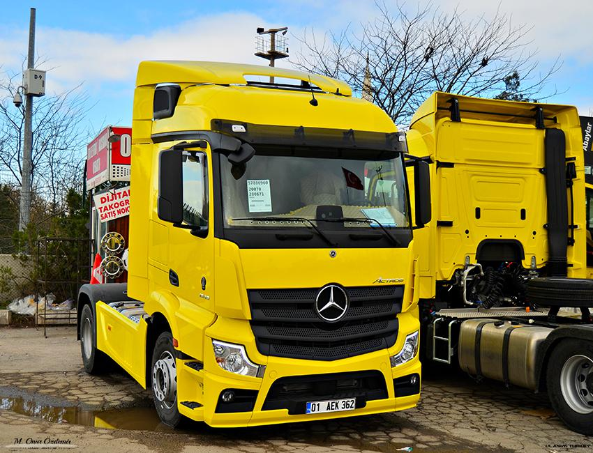 ETS2 - Mercedes-Benz New Actros 2019 by Actros 5 Crew V1 (1.37.x)