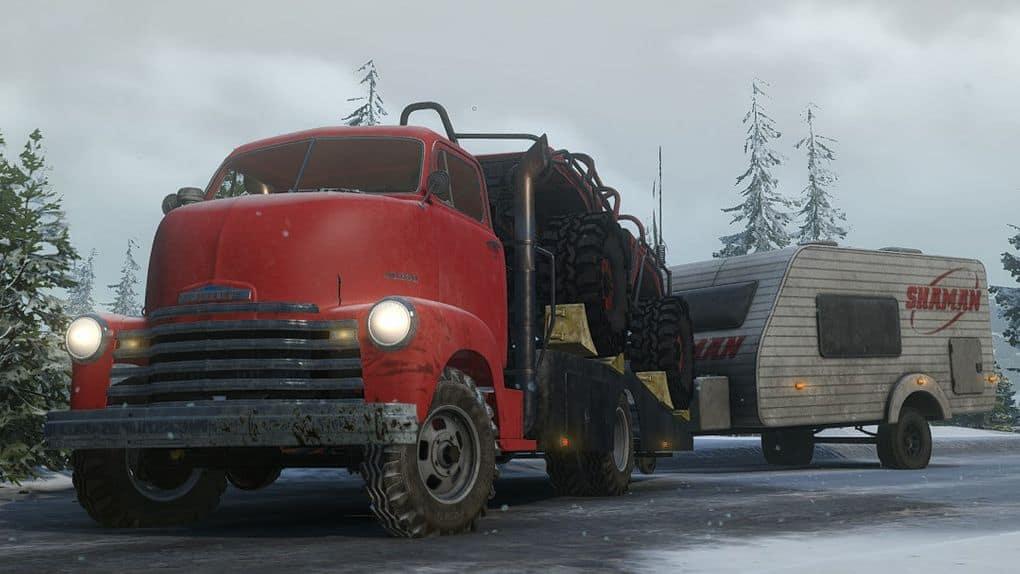 SnowRunner - Chevrolet COE Ramp Truck V1.0