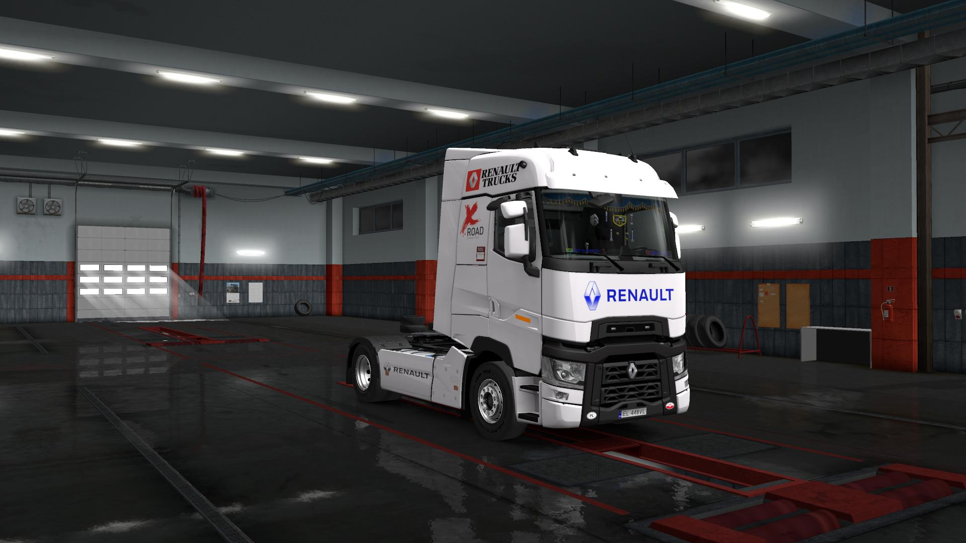 ETS2 - Renault T (1.35 / 1.36 Beta)
