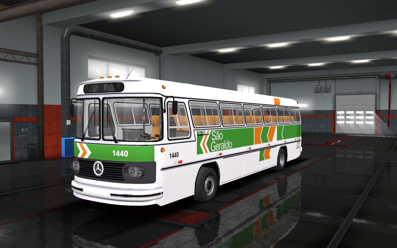 ETS2 - Mercedes-Benz Monobloco O362 Bus Mod (1.35.x)