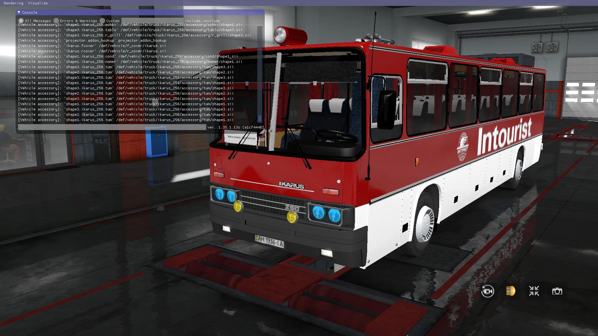 ETS2 - Ikarus 250-59 V10.07.19 (1.35.X)