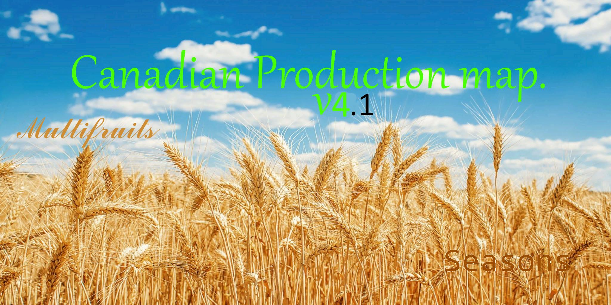 FS19 - Canadian Production Map V4.1