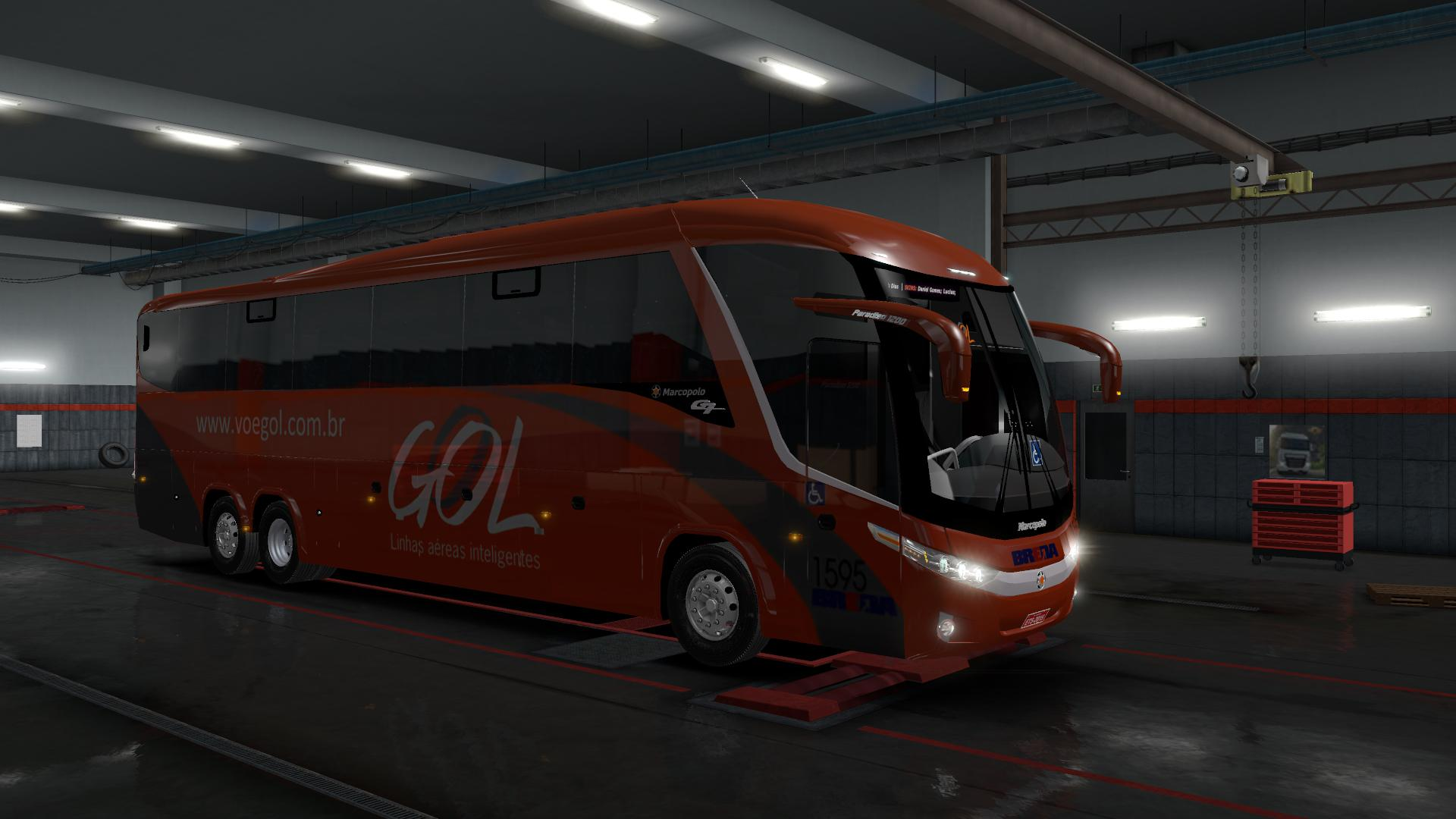 ETS2 - Marcopolo G7 1200 MB 6x2 Serie-1 (1.36.x)