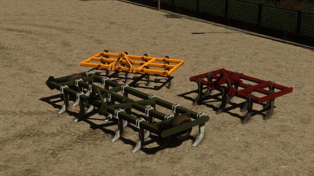 FS19 - Lizard Cultivators Pack V1.0
